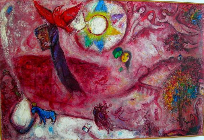 Albert Ploeger Kunstmeditaties Chagall Bijbel